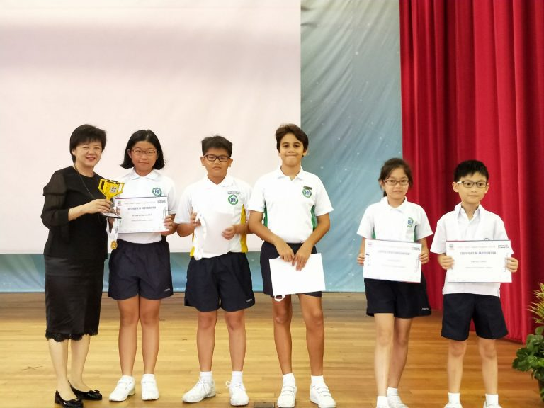 First Lego League (FLL) Competition 2018 - Best Newcomer Award